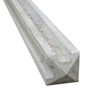 2360mm CORNER CONCRETE FENCE POST