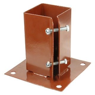 EASYPOST 75mm x 75mm BOLT-DOWN SUPPORT