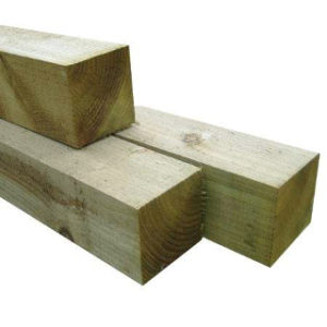1.8 mt 75mm x 75mm FENCE POST