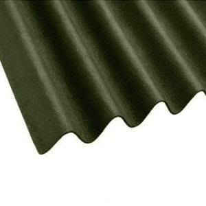 2mt x 950mm GREEN BITUMEN ROOFING