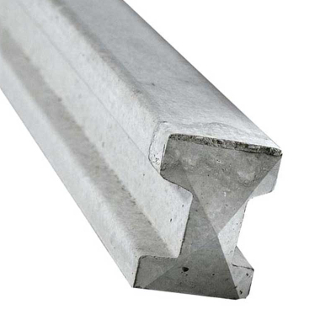2360mm INTERMEDIATE CONCRETE FENCE POST