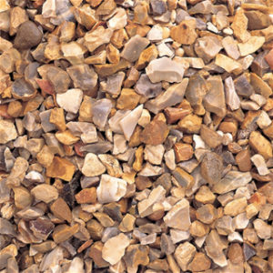 LARGE BAG 20MM GOLDEN FLINT CHIPPINGS