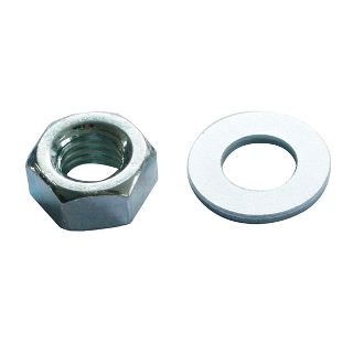 Pack 6 M12 Nuts & Washers