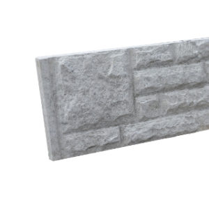 1830mm x 300mm ROCK FACED CONCRETE GRAVEL BOARD