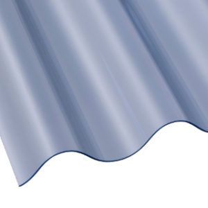 2440mm x 662mm MINI TRANSLUCENT CORRUGATED PVC