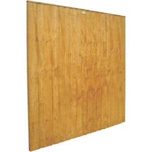 1830 x 915mm Feathedge Fence Panel