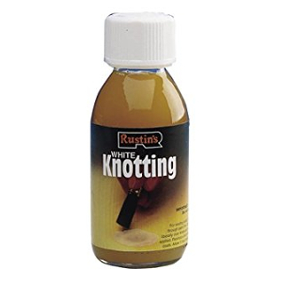 125ml. RUSTINS WHITE KNOTTING