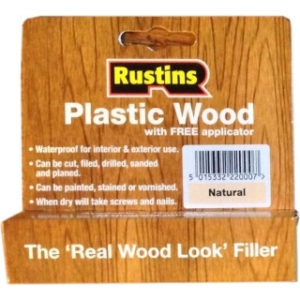 SMALL TUBE RUSTINS NATURAL PLASTIC WOOD
