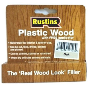 SMALL TUBE RUSTINS OAK PLASTIC WOOD