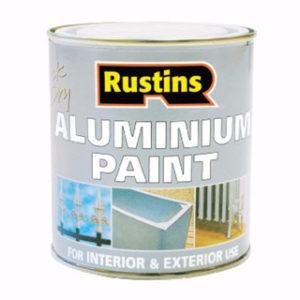 500ml Q/D RUSTINS ALUMIINIUM PAINT