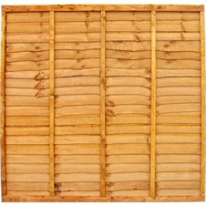 1830 x 1830mm Waneyedge Fence Panel