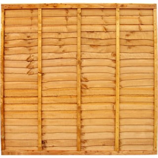 1830 x 1830mm Waneyedge Fence Panel