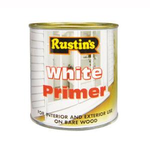 1lt. RUSTINS WHITE WOOD PRIMER