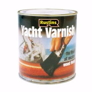 500ml. RUSTINS SATIN YACHT VARNISH
