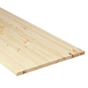 1200 x 300 x 18mm PINEBOARD