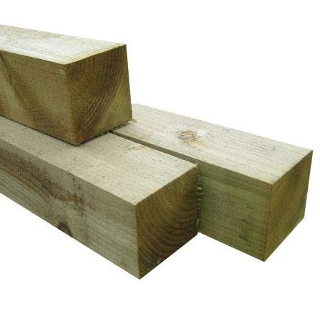 2.4 mt 100mm x 100mm FENCE POST