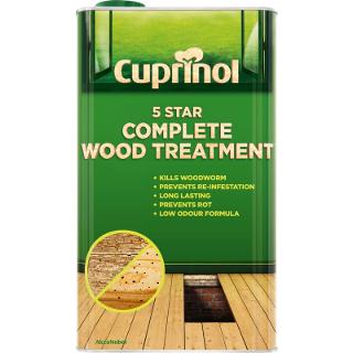 2.5L 5 STAR WOOD TREATMENT CUPRINOL