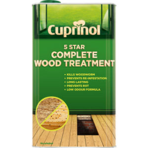 5L 5 STAR WOOD TREATMENT CUPRINOL