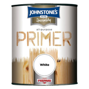 250ml WHITE ALL PURPOSE PRIMER JOHNSTONE'S PAINT