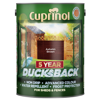 5L AUTUMN BROWN DUCKSBACK CUPRINOL