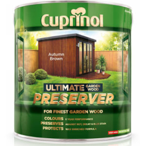 1L AUTUMN BROWN ULTIMATE WOOD PRESERVER CUPRINOL