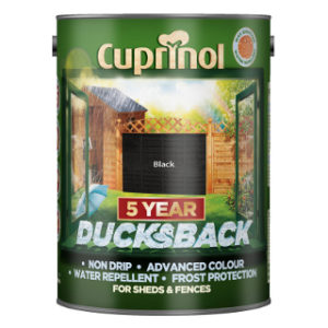 5L BLACK DUCKSBACK CUPRINOL