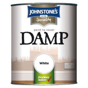 750ml WHITE DAMP PROOF JOHNSTONE'S PAINT