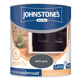 2.5L DARK GREY EXTERIOR UNDERCOAT JOHNSTONE'S PAINT