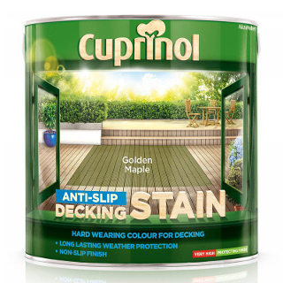 2.5L GOLDEN MAPLE DECK STAIN CUPRINOL