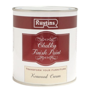 250ml. KENWOOD CREAM CHALKY FINISH PAINT RUSTINS