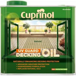 2.5L NATURAL DECKING OIL CUPRINOL