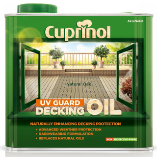 2.5L NATURAL OAK DECKING OIL CUPRINOL
