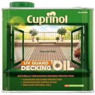 2.5L NATURAL PINE DECKING OIL CUPRINOL