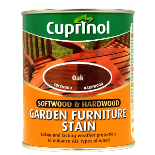 750ml OAK GARDEN FURNITURE STAIN CUPRINOL