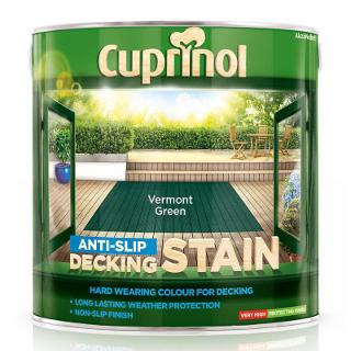 2.5L VERMONT GREEN DECK STAIN CUPRINOL