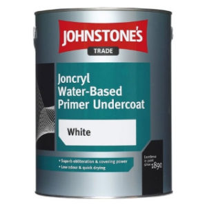 1L WHITE JONCRYL PRIMER UNDERCOAT JOHNSTONE'S PAINT
