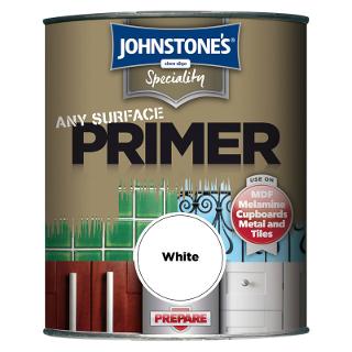 750ml WHITE ANY PURPOSE PRIMER JOHNSTONE'S PAINT
