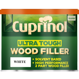750g WHITE WOOD FILLER ULTRA TOUGH CUPRINOL
