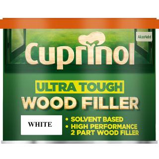 250g WHITE WOOD FILLER ULTRA TOUGH CUPRINOL