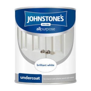 750ml BRILLIANT WHITE UNDERCOAT JOHNSTONE'S PAINT