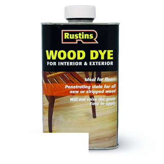 250ml WHITE WOOD DYE RUSTINS