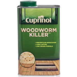 1L WOODWORM KILLER CUPRINOL
