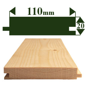 125 x 25mm TONGUE & GROOVE FLOORING