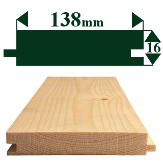 150 x 19mm TONGUE & GROOVE FLOORING