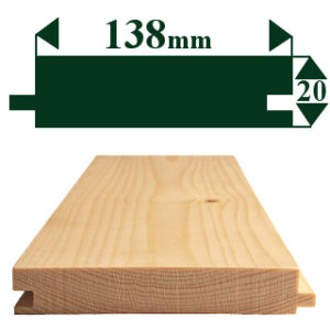 150 x 25mm TONGUE & GROOVE FLOORING
