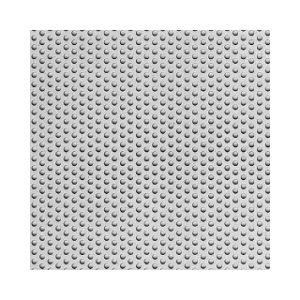 200mm x 1000mm x 0.7mm ALUMINIUM PERFORATED SHEET ROTHLEY