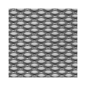 300mm x 1000mm x 1.2mm STEEL PERFORATED SHEET ROTHLEY