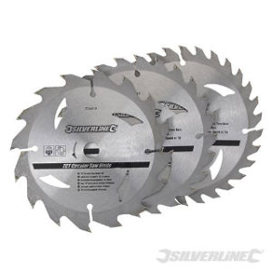 Pk. 3 135mm x 12.7-10mm RINGS CIRCULAR SAW BLADES