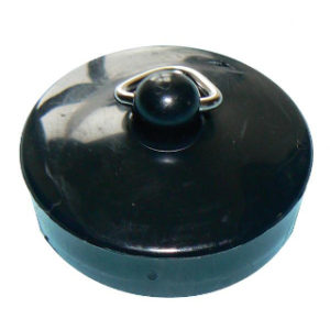 "1.3/4"" BLACK BATH PLUG"