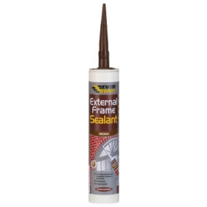 BROWN EXTERNAL FRAME SEALANT CARTRIDGE EVERBUILD